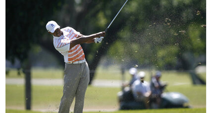 Tiger Woods thrives as McIlroy struggles in Cadillac Championship