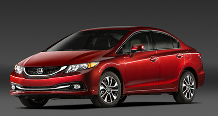 Honda Civic is first compact to earn 'Top Safety Pick+' rating