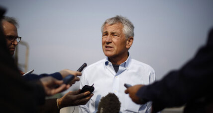 Afghanistan: Two suicide bombers strike on first day of Hagel's visit