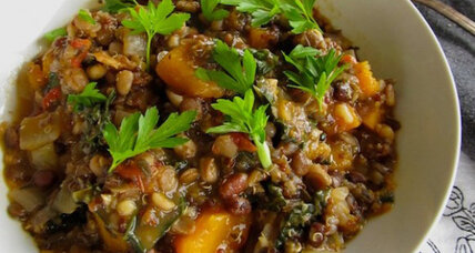 Meatless Monday: Kale and black-eyed pea stew and a vegan cookbook review
