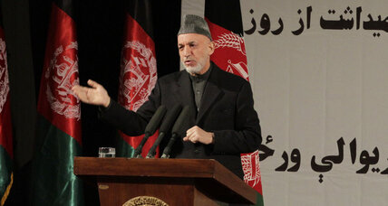 Karzai: Explosions show Taliban 'at the service' of America
