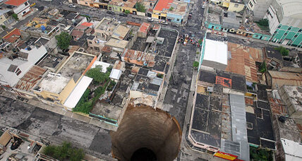 Washington sinkhole: What's with all the sinkholes anyway?