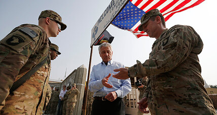 Controversy spurs Pentagon's Hagel to review new 'Nintendo' medal