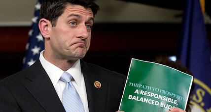 What's in Paul Ryan plan? Surprising numbers from GOP House budget. (+video)