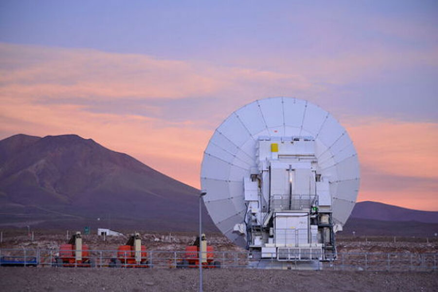 Alma telescope the worlds largest will go deeper and farther than