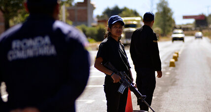 One Mexican town finds more security by throwing out the police