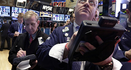 Stocks up; Dow on longest streak since '96
