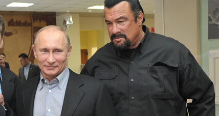 With Steven Seagal in tow, Putin pushes for Soviet-era phys-ed revival