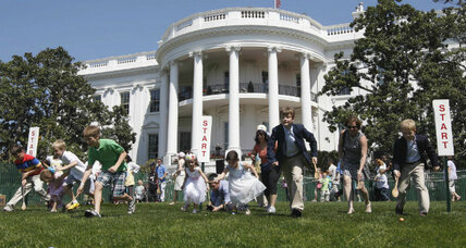 White House Easter Egg Roll: next victim of Washington's money woes? (+video)