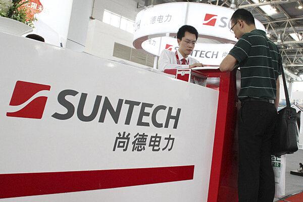 Suntech Power Defaults Solar Troubles Reach China Csmonitor Com