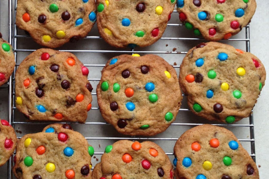 chocolate chip monster cookies - CSMonitor.com