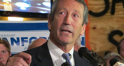 Mark Sanford inches toward redemption, but tea party dark horse looms