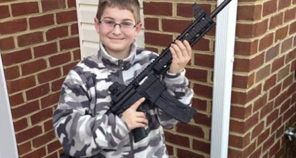 Facebook photo raid? Family says NJ overreacted to boy's Facebook gun photo.