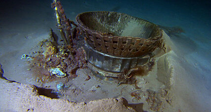 NASA to restore Apollo engines found on ocean floor