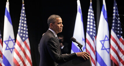 Obama to Israelis: 'Put yourself' in Palestinians' shoes