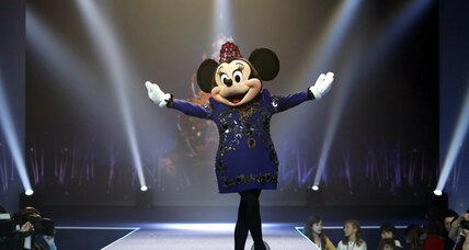 Minnie Mouse 'makeover' features designer dress
