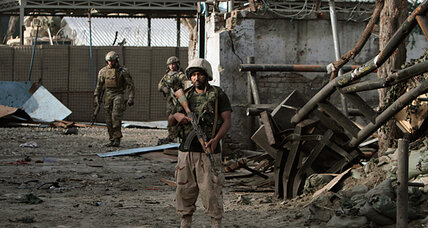 Afghanistan car bomb injures British troops, underscores transition hurdles