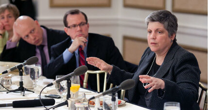 Janet Napolitano answers critics of new TSA rules for knives on airplanes