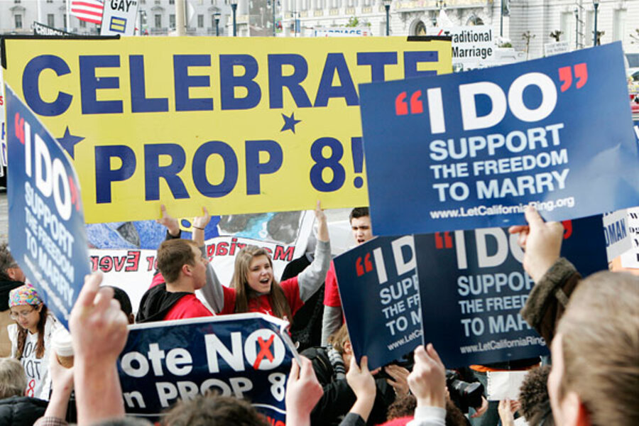 gay marriage initiative California