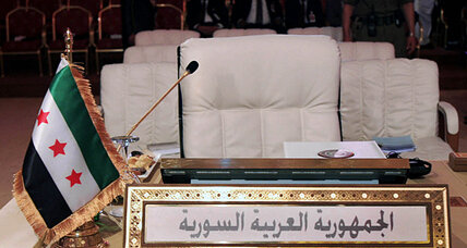 Rebels capture strategic no man's land: Syria's seat at the Arab League