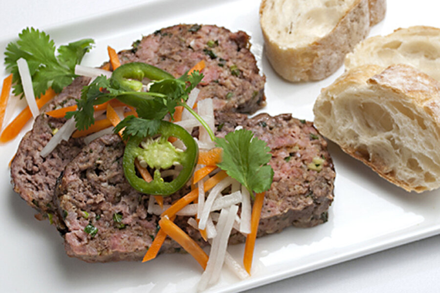 Bánh Meatloaf: A Vietnamese sandwich gets an American makeover