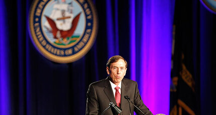 Did David Petraeus drop hint about future plans in speech? (+video)