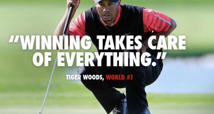 'Winning' Tiger Woods ad: Thumb in the eye or reinvention of flawed hero? (+video)
