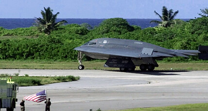 US stealth bomber as messenger: what it says to China, North Korea