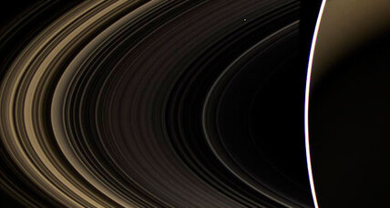 Where did Saturn's rings come from? Mystery gets a new clue.