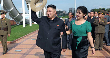 Family man and friendly leader? Kim Jong Un gets positive spin at home