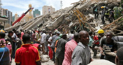 At least 18 killed in Tanzania building collapse