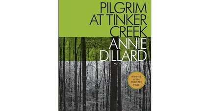 Reader recommendation: Pilgrim at Tinker Creek
