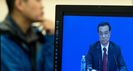 China's Premier Li meets the press – but no unscripted questions, thank you