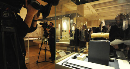 The Cyrus Cylinder, symbol of Persian tolerance, heads to US