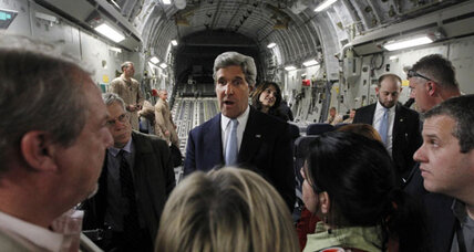Kerry wants Iraq to stop arms shipments to Syria. Why would Iraq agree?