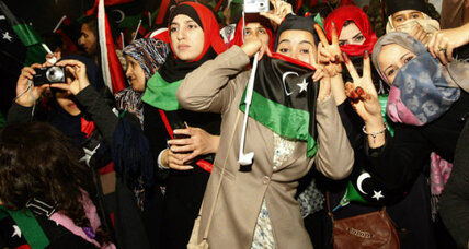 In Libya, Islam – and a purple hijab – help spurn domestic violence against women
