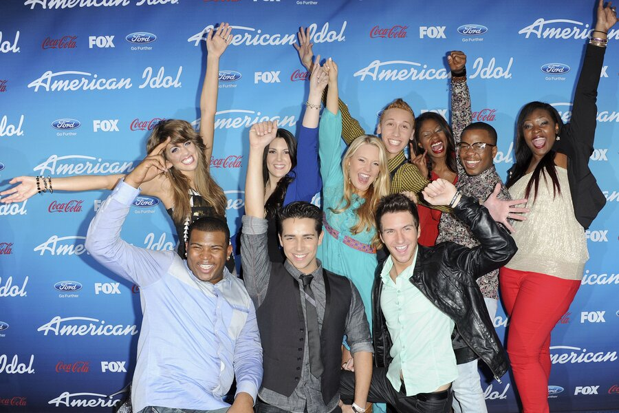 Christian American Idol American Idol Can The Boys