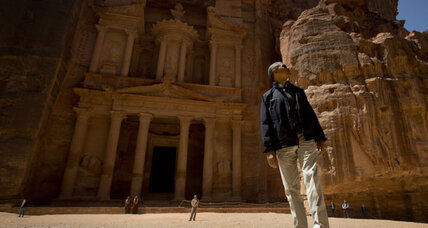 Obama's last Middle East stop: Petra