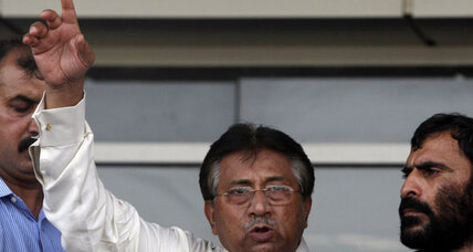 Musharraf returns to 'save Pakistan,' but nation skeptical