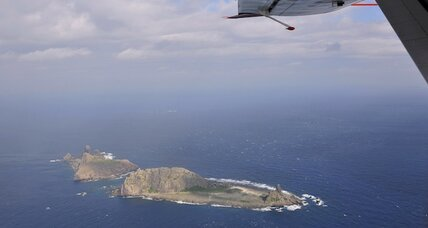 In China-Japan island clash, a peaceful diversion