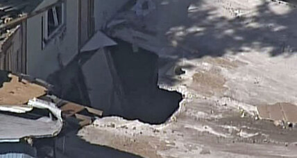 New Florida sinkhole in same Florida town