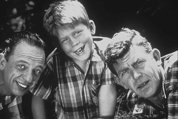 ... , Ron Howard as Opie Taylor and Andy Griffith as Sheriff Andy Taylor