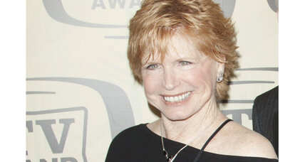 Bonnie Franklin played a single mother on the sitcom 'One Day at a Time'