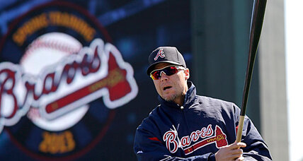 Chipper Jones in Yankee pinstripes? Not likely
