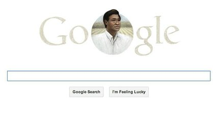 Google takes Easter heat over Cesar Chavez doodle