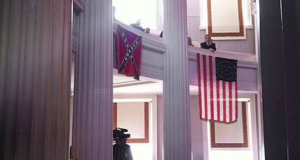Confederate flag coming down in North Carolina. Why?