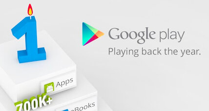 Google Play: A year old and 700 million apps strong