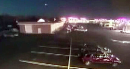Volleyball-sized fireball streaks across East Coast sky