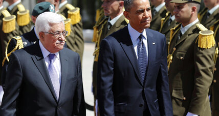 West Bank hosts Obama, Gaza sends rockets