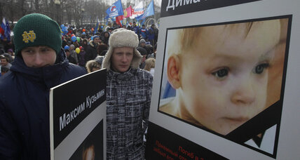 As emotions over US-Russia adoptions intensify, a rift widens into a chasm